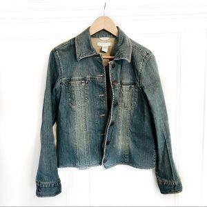 geoffrey bean • jean jacket blue